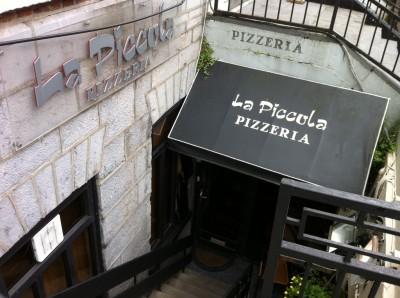 La Piccola Pizzeria, en O'Connell Street (Limerick)