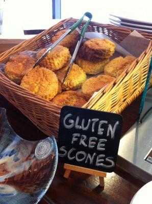 Scones (panecillos) sin gluten