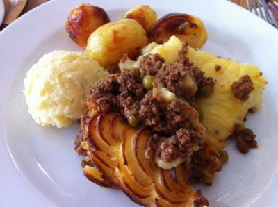 Cottage Pie (pastel de carne)