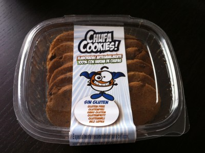 Chufa Cookies de chocolate