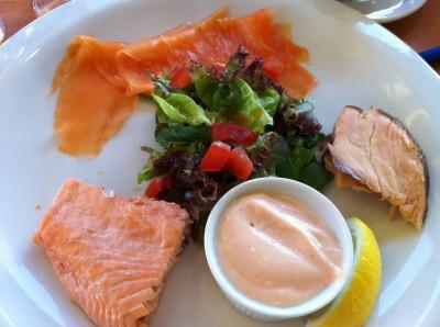 Trío de salmón