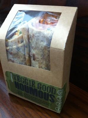 Wrap sin gluten (Starbucks)