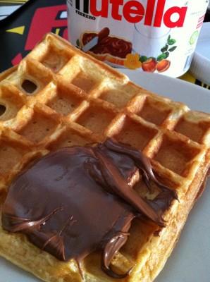 Gofre con Nutella :)